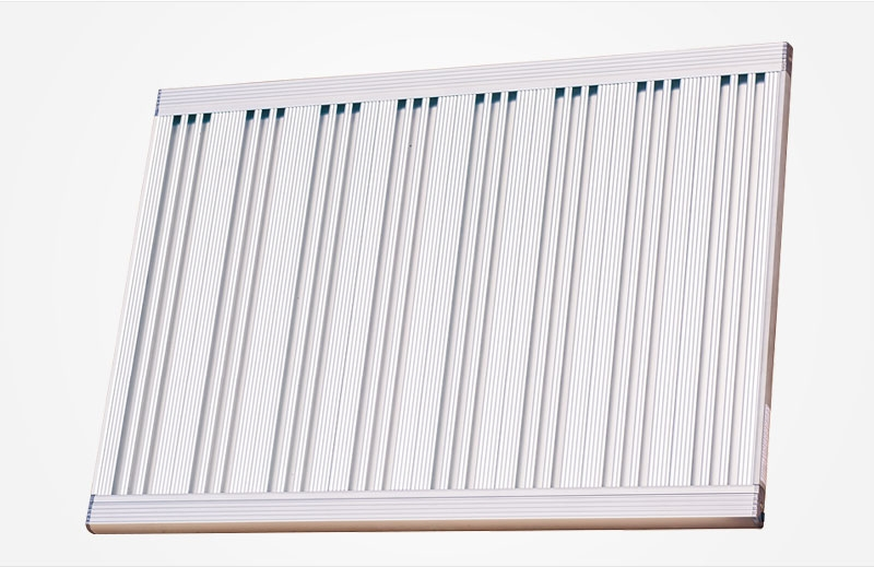 Magnesium alloy wall-mounted temperature control heater